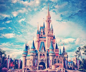 castle, cool, and disney image
