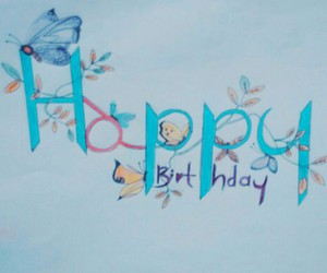 birthday, drawing, and happy image