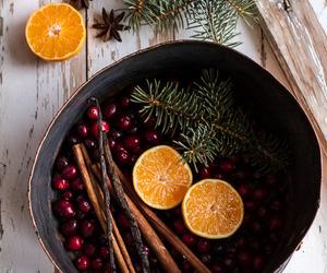 christmas, Cinnamon, and fruit image