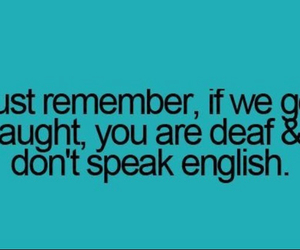funny, deaf, and english image