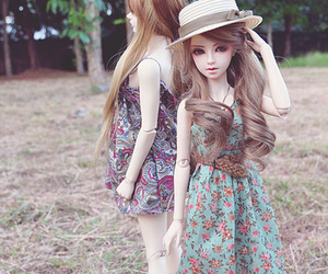 dolls, romantic, and cute image