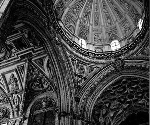 architecture, b & w, and beauty image