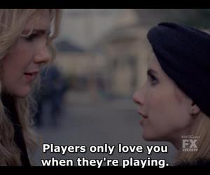 coven, emma roberts, and player image