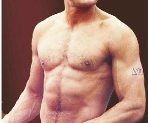 abs, body, and handsome image