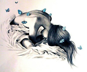 draw, beautiful, and butterfly image