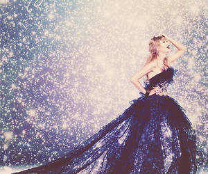 Taylor Swift, dress, and starlight image