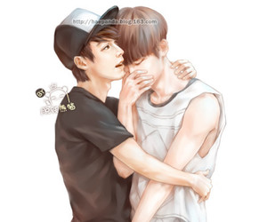 eunhae, fanart, and donghae image