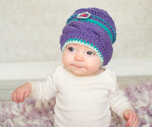 baby clothes, knit hat, and baby fashion image
