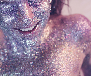 glitter, sparkle, and smile image