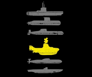 yellow submarine and the beatles image