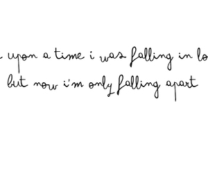 falling, love quotes, and Lyrics image
