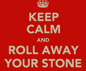 keep calm, rock, and song image