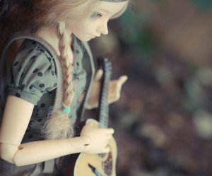 doll, folk, and music image