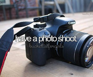 camera and bucketlist image
