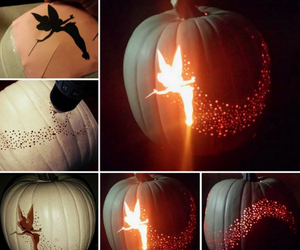 Halloween, pumpkin, and fairy image