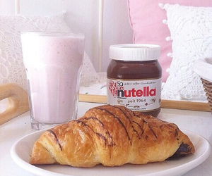 delicious, food, and nutella image