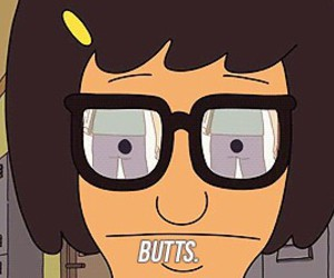 booty, butts, and glasses image