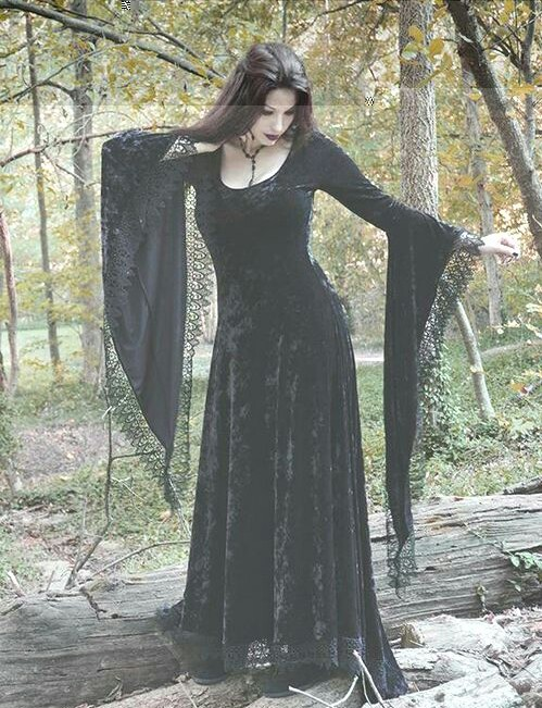 gothic, dress, and goth image