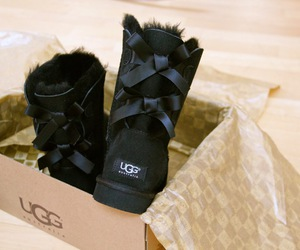 fashion, ugg, and boots image