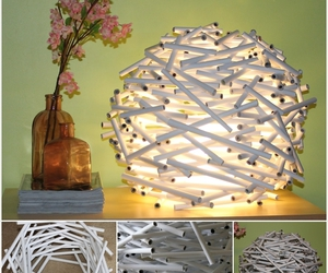 diy, ideas, and lamp image