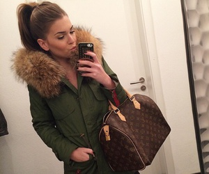 beautiful, brown, and Louis Vuitton image