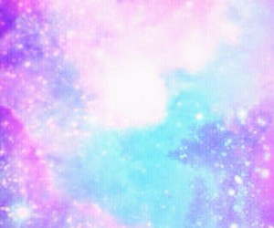 blue, pink, and wallpaper image