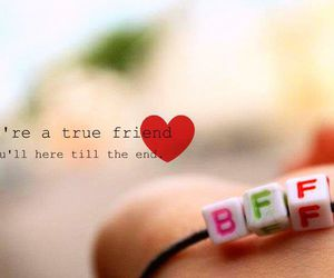 friends, bff, and love image