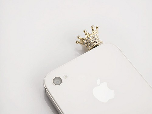 iphone, crown, and white image