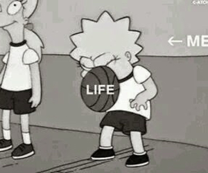 life, me, and simpsons image