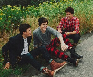 cameron dallas, nash grier, and hayes grier image