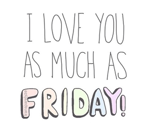 friday, pastel, and love image