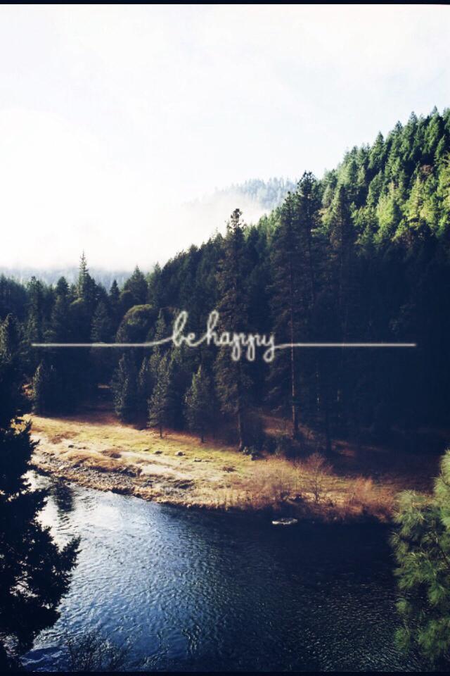 happy, nature, and tumblr image