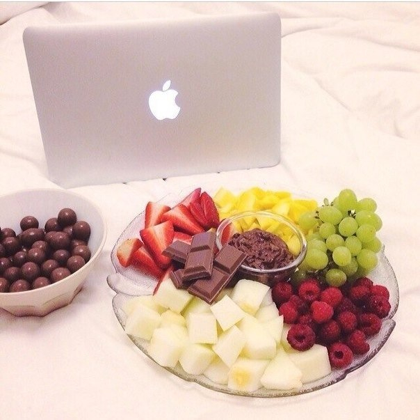 berries, food, and chocolate image