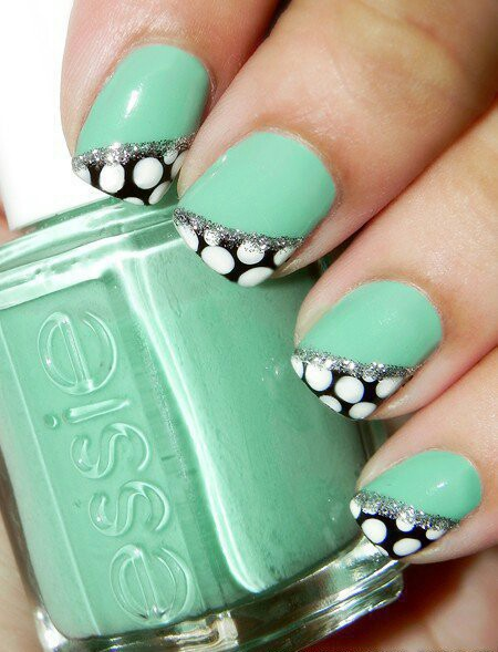 nails, nail art, and essie image