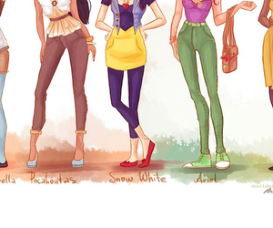 arial, aries, and clothing image