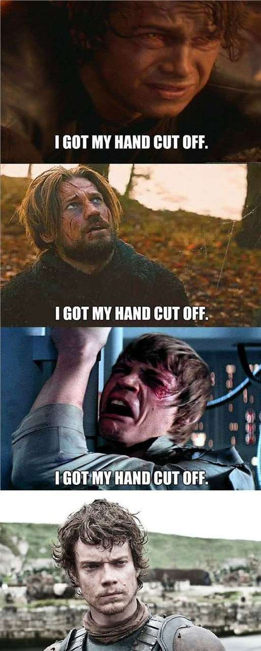 game of thrones, star wars, and funny image