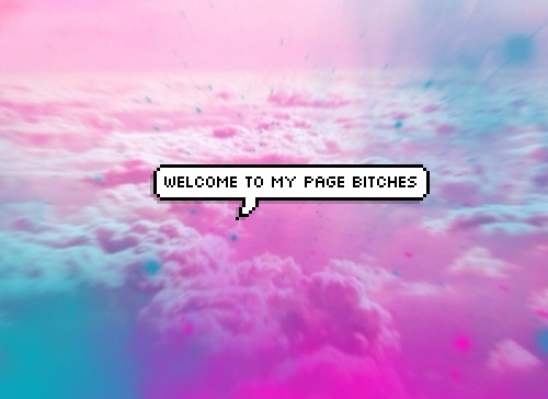welcome, bitch, and page image