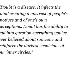 doubt, quote, and revenge image