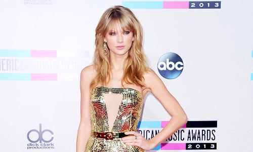 Taylor Swift and amas 2013 image