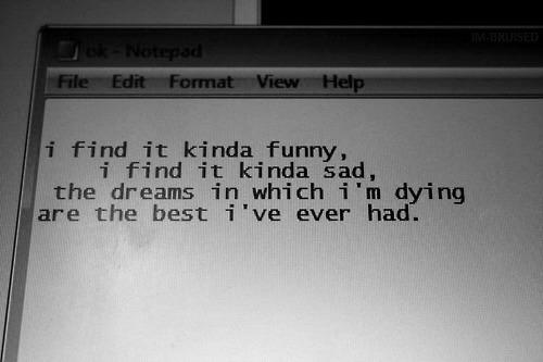 sad, Dream, and mad world image