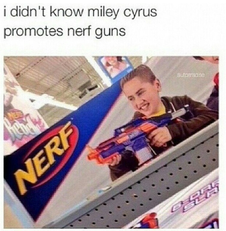 funny and miley cyrus image