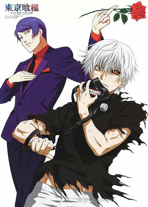 tokyo ghoul, anime, and tsukiyama image
