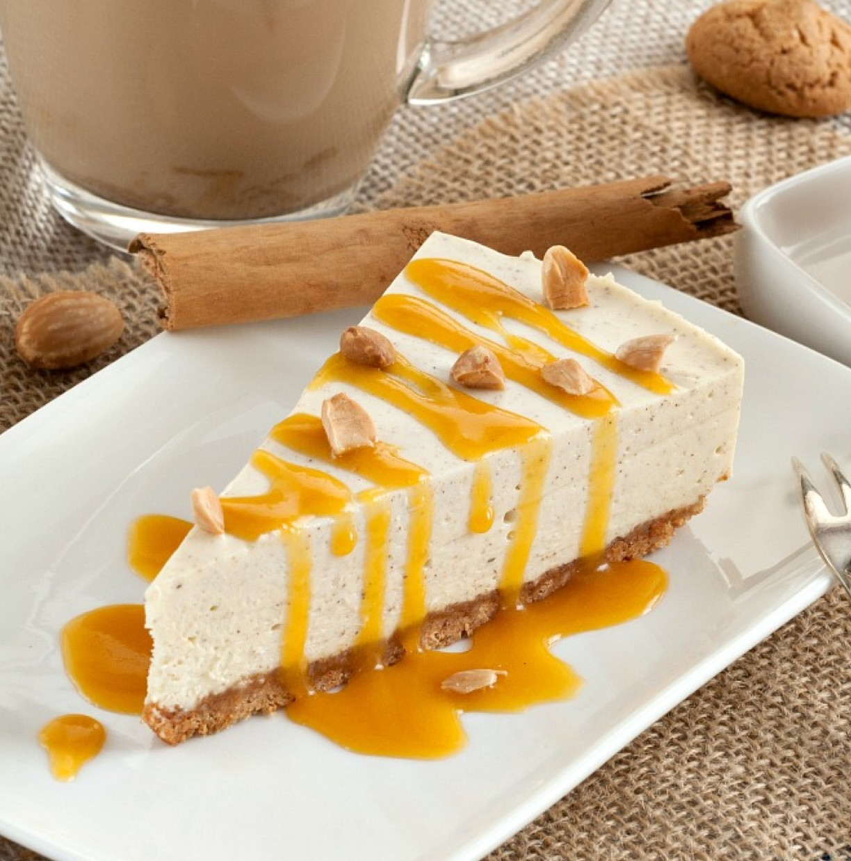 cheesecake, food, and delicious image