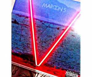 album, cd, and maroon 5 image