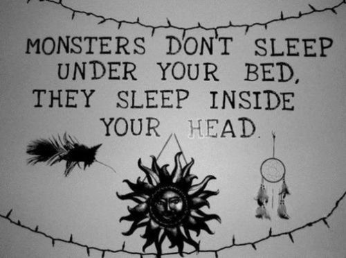 monster, sleep, and quote image
