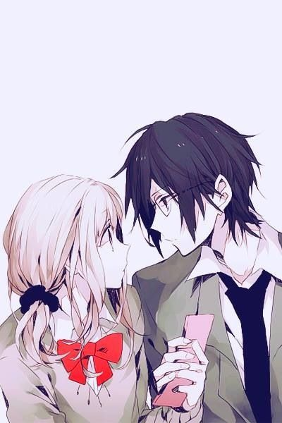 anime, couple, and manga image