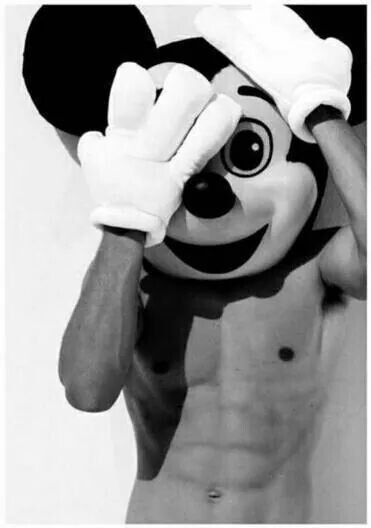 boy, mickey, and sexy image