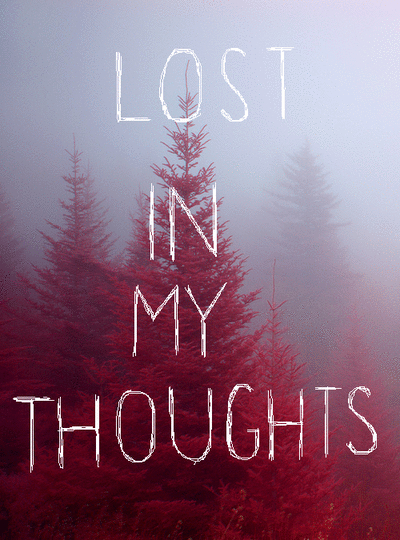 lost, thoughts, and quotes image