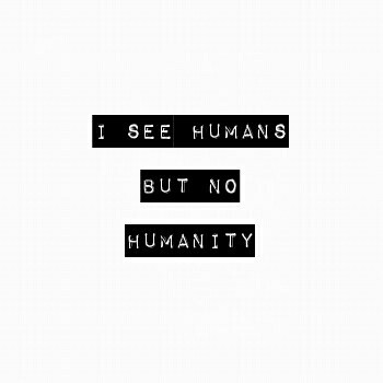 human, humanity, and lost image