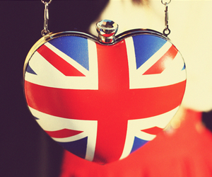 london, heart, and england image